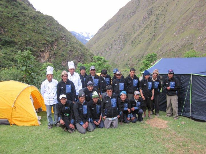 Our Inca Trail Vamos Expedition Team