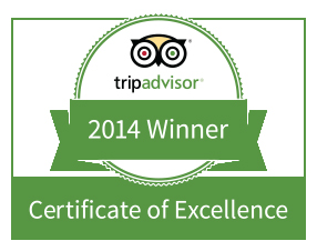 Vamos Expeditions was the winner of a Certificate of Excellence by Trip Advisor.