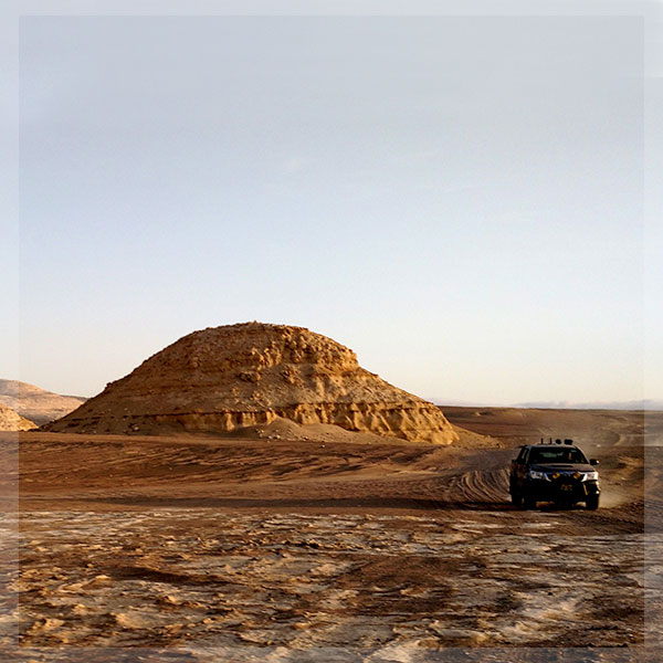 4X4 Fishing and camping trip at the Ocucaje desert south ofLima