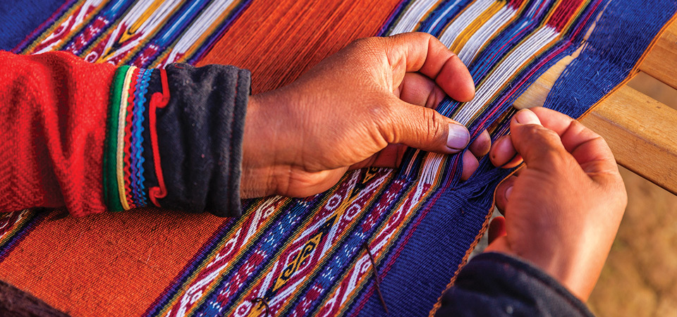 Craftsmanship in Pisac in the Sacred Valley