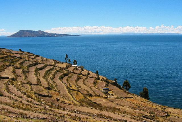 Amantani island view