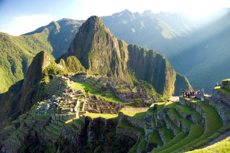 Machu Picchu at first morning light.jpg