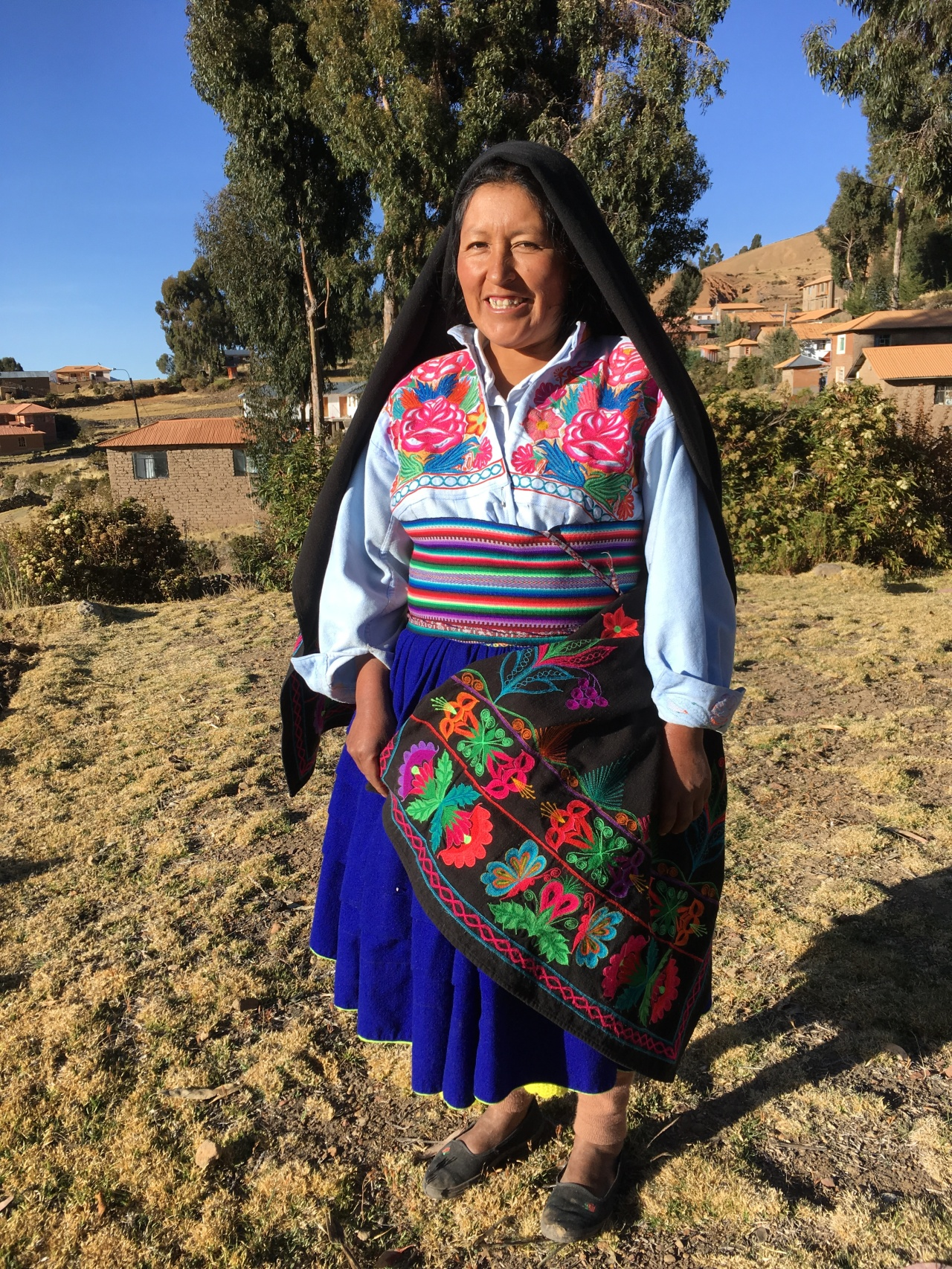 Meet Juana: Living the local life at Amantaní island on lakeTiticaca